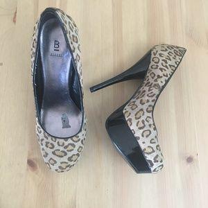 "Bakers ""Victoria"" Faux Fur Cheetah Print Heels | 8"